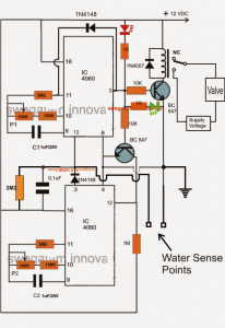 Water Flow Valve Timer Controller
