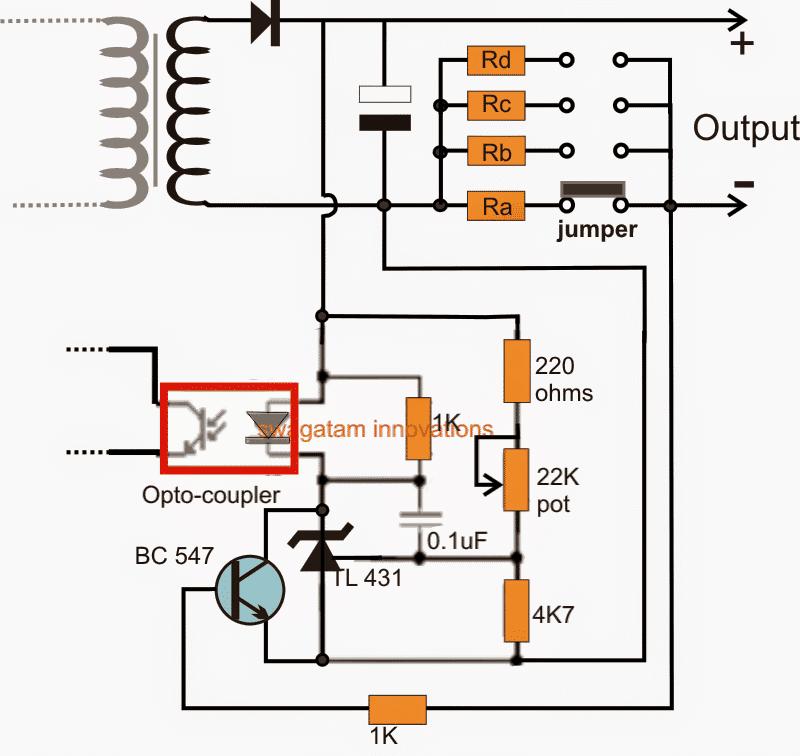 Adjustable Current SMPS Circuit