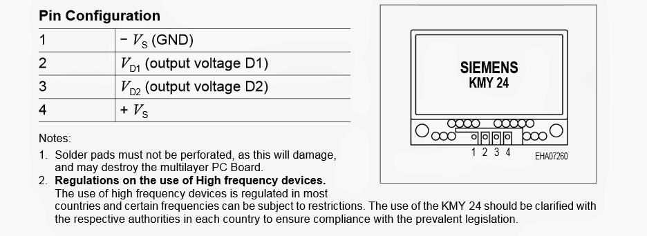 Microwave Sensor or a Doppler Sensor Circuit