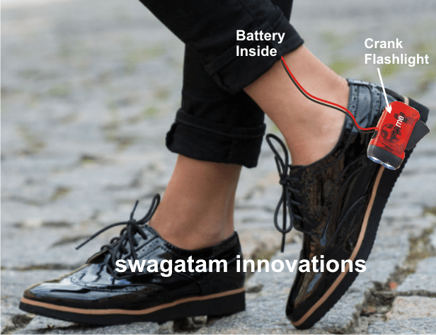 How to Generate Electricity from Shoe while Walking