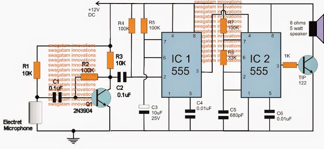 dog barking preventor eliminator circuit for stopping dog barking