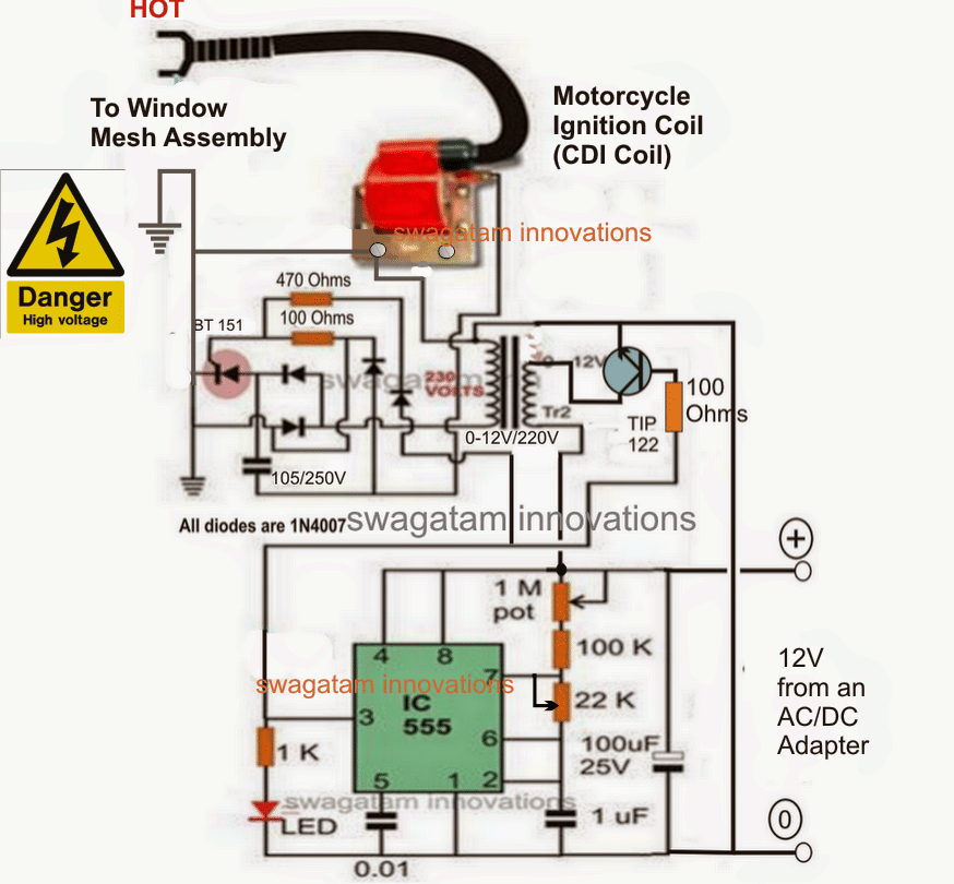 30v Volt Meter With Pic16f676 together with 1000w Ac Motor Speed Controller further 6s4m37 likewise Mosquito Killer Circuit likewise Mcu System Controller 12v Dc Motor Speed And Direction Using Irf150. on scr circuits