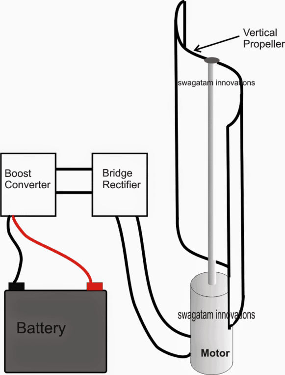 simple2Bwindmill2Bgenerator simplest windmill generator circuit windmill wiring diagram at honlapkeszites.co