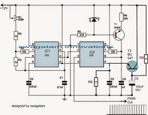 Make this PWM Motor Soft Start to Prevent High Consumption during Power Switch ON