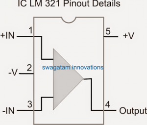 Single Opamp IC LM321 Datasheet – IC 741 Equivalent