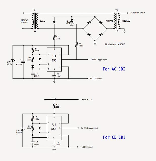 cdi tester circuit