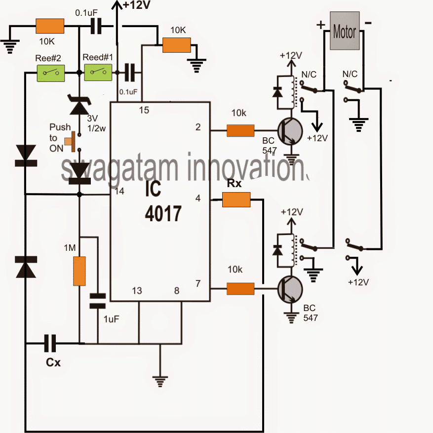 3 Stage Timer Circuit for Industrial Camshaft
