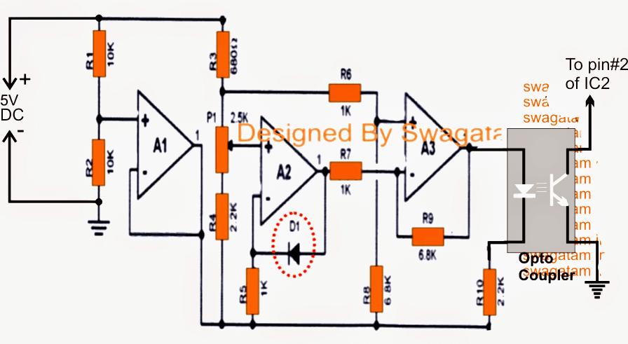 motor heat sensor based dry run protection circuit