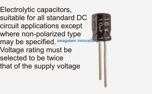 identifying electrolytic capacitor rating