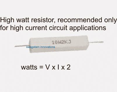 high watt wirewound resistor