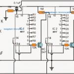 RGB LED Scrolling Alphabet Circuit
