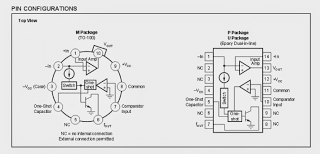 pinout - Voltage to Frequency Converter Circuit