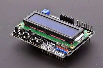 Arduino LCD KeyPad Shield (SKU: DFR0009)