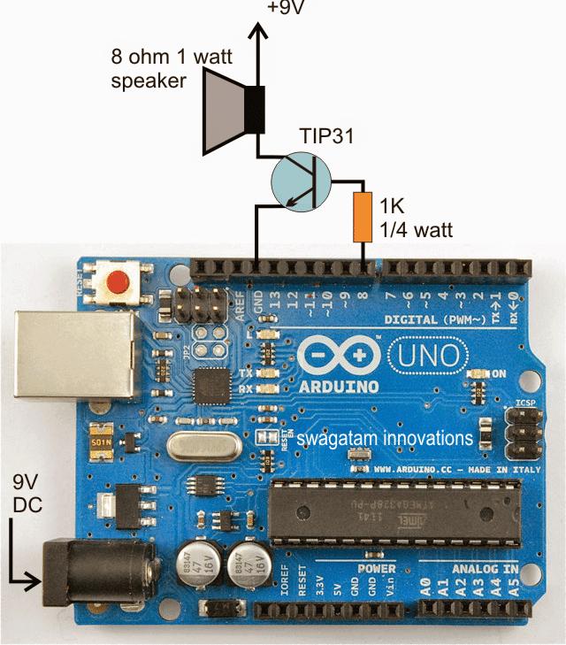 Arduino police siren