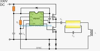 Electronic Ballast for Twin 40 Watt Fluorescent Tubes