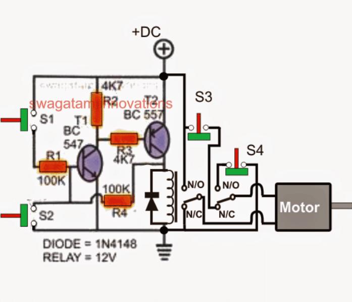 Simple Gate Open/Close Controller Circuit