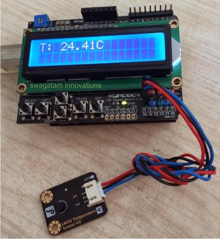 digital LCD display readout module.