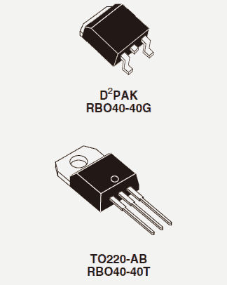 40 Amp Diode RBO40-40G/T Works