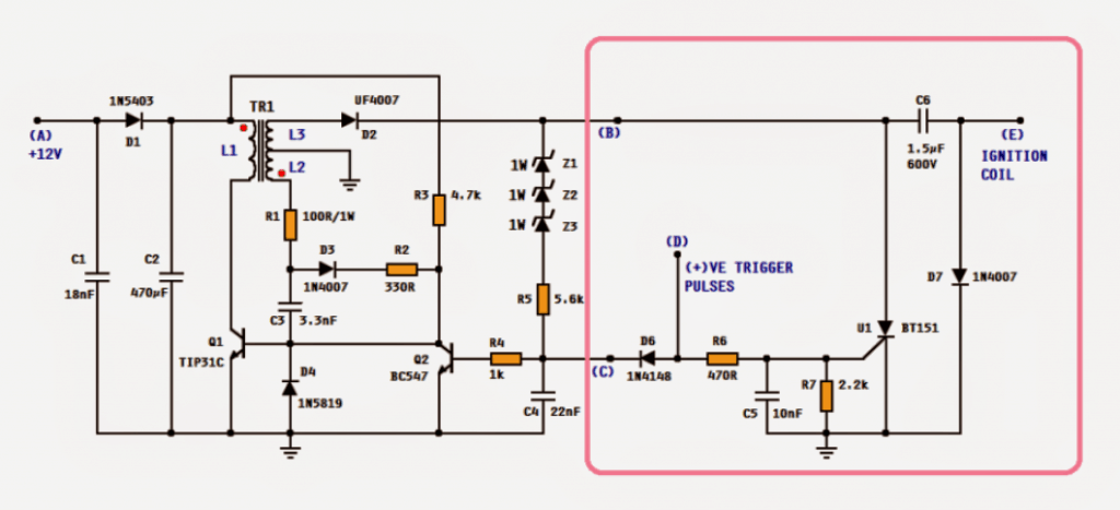 Dc cdi circuit for motorcycles sciox Image collections