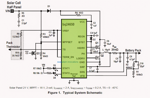Solar Wind Hybrid Battery Charger Circuit