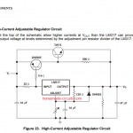 LM317, LM338 current boost using outboard transistors