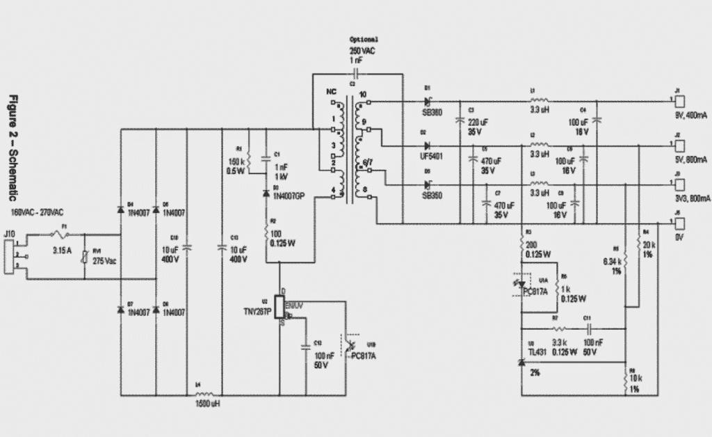 Make this 3.3V, 5V, 9V SMPS Circuit