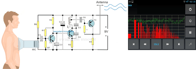 Wireless Electronic Stethescope Amplifier Circuit