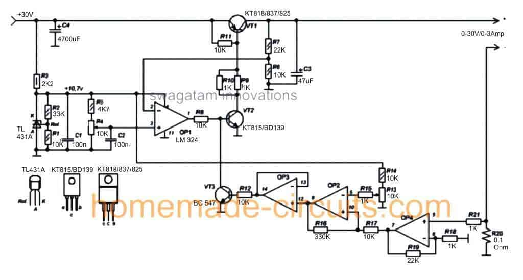 Power Supplies And Control Schematics Circuits And Diagram - Wiring