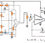 Stethescope Amplifier Circuit