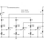 SCR Motorcycle Shunt Regulator Circuit