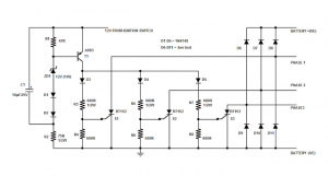 SCR Motorcycle Shunt Regulator Circuit