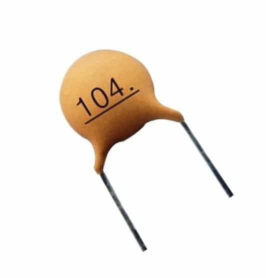 ceramic disc capacitor 0.1uF
