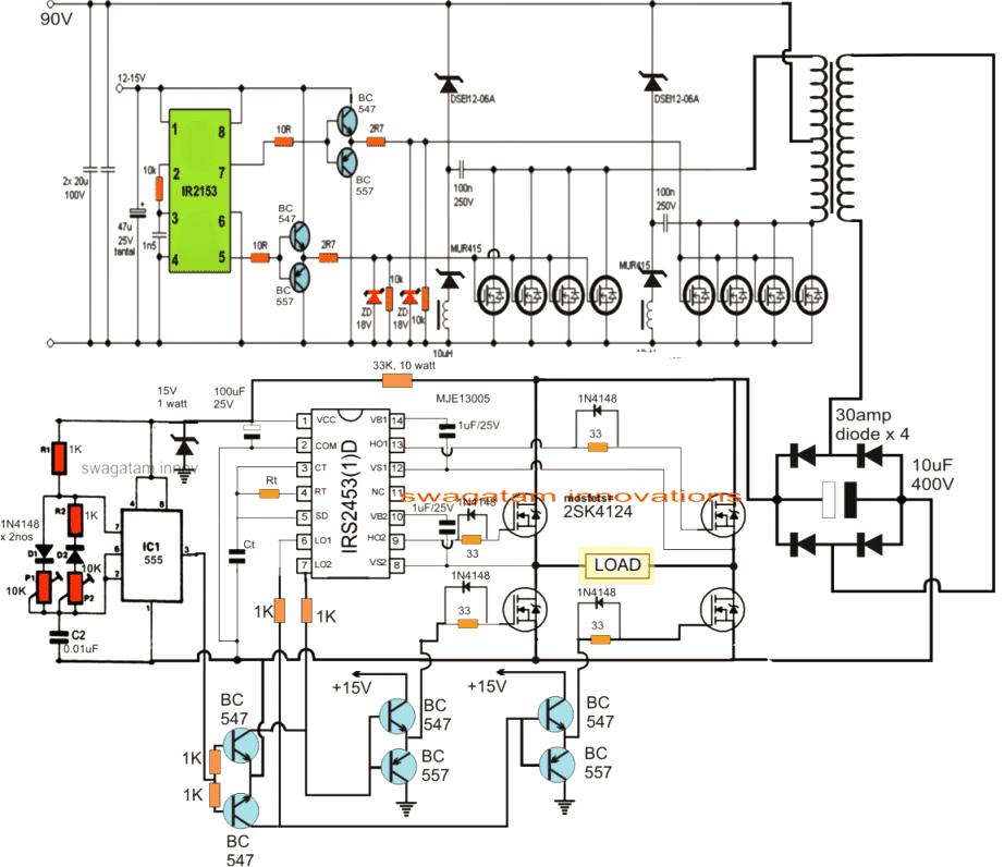 ups circuit diagram rh softboxfab bitballoon com homage ups schematic circuit diagram Schematic Circuit Diagram