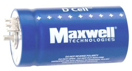 supercapacitor maxwell