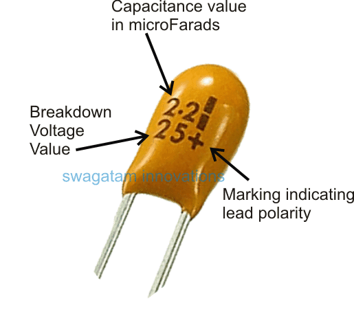 How to read and understand tantalum capacitor
