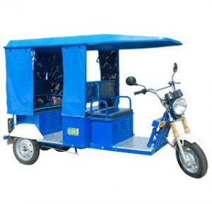 Solar E Rickshaw Construction, Working