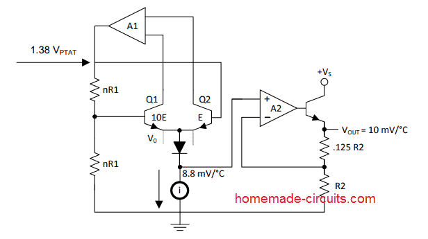 LM35 block diagram