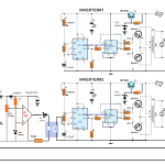 Synchronized 4kva Stackable Inverter Circuit Part 1
