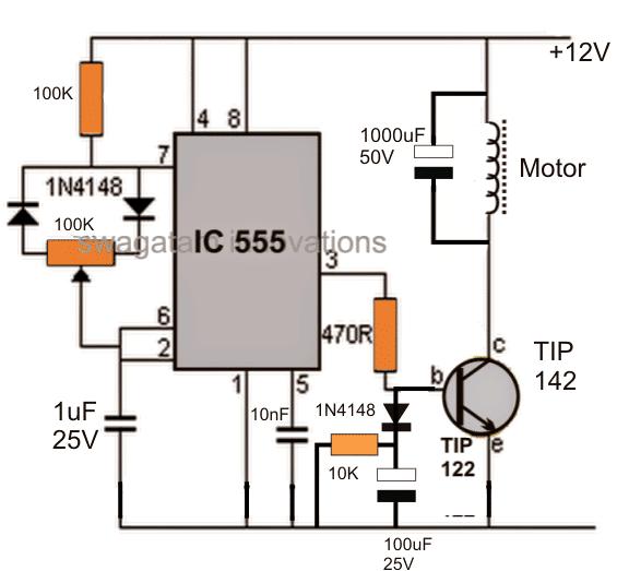 solar e rickshaw pwm controller circuit