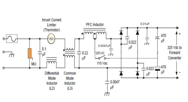 example PFC circuit