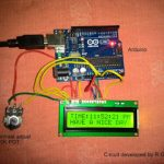 Digital Clock Circuit Using Arduino and 16×2 LCD Display