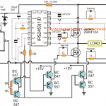 solar PWM inverter circuit using IRS2453 and IC 555