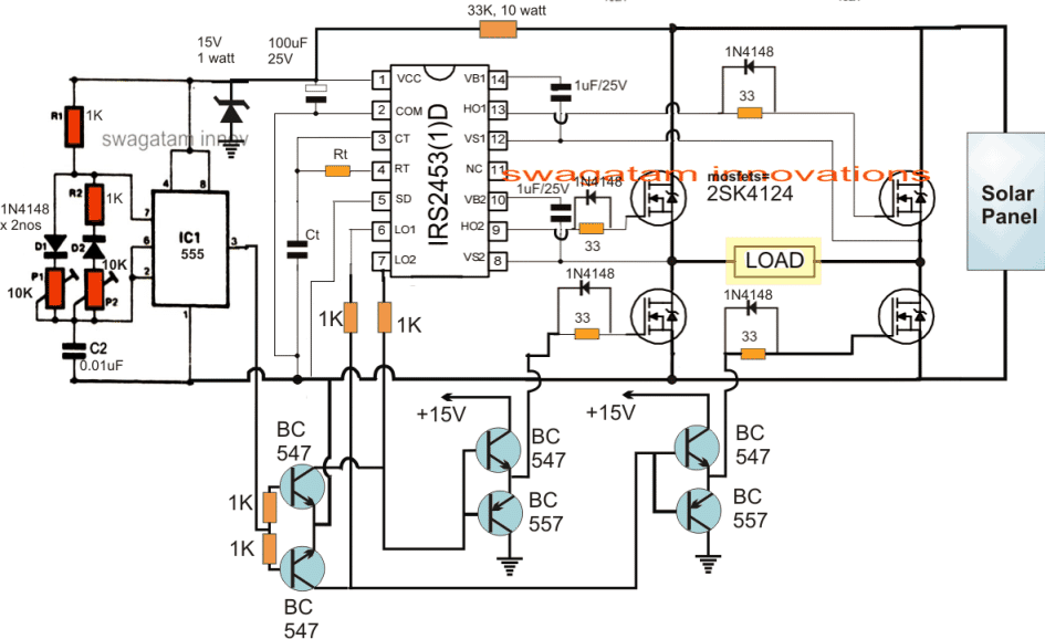 Ac Inverter Wiring Diagram