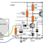 Motorcycle Accident Alarm Circuit