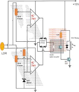 Foolproof Laser Security Alarm Circuit