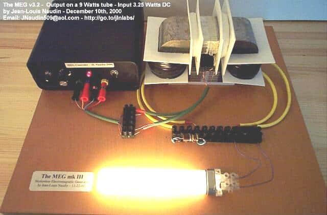 Motionless Electromagnetic Generator ( MEG )