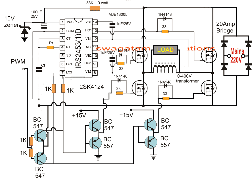 ac voltage stabilizer circuit diagram pdf