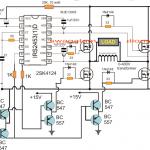 H-Bridge Mains Voltage Stabilizer Circuit, 100V to 220V