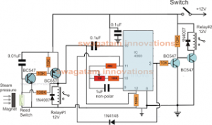 Autoclave Heater Controller Circuit with Timer