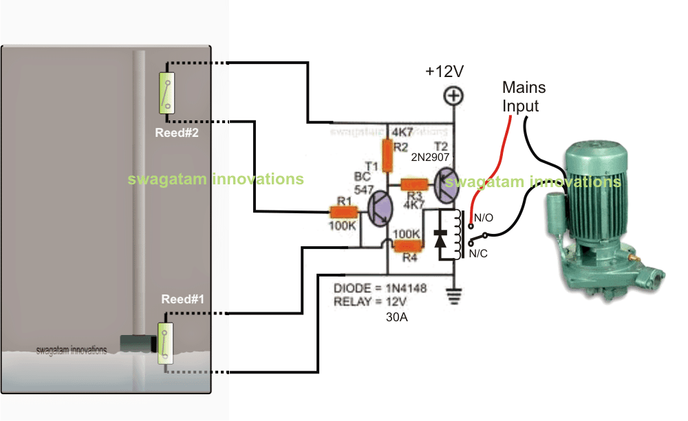 pump control box wiring diagram water pump control box wiring diagram single phase jet pump controller circuit | homemade circuit projects